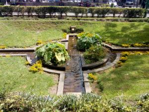 Parque a Centro America - dettaglio delle aree verdi