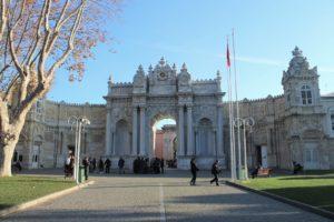 Accesso al Palazzo Dolmabahce
