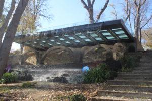 Emirgan Park - la piattaforma-fontana