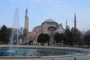 Fontana Sultan Ahmad e Basilica di Santa Sofia