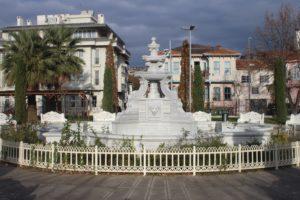 Fontana del parchetto di Cinci Meydani