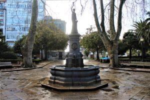 Fontana in Plaza do General Azcarraga