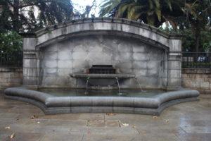 Fonte in Plaza da Constitucion