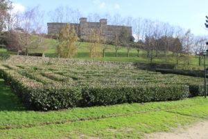 Giardini del Parque de Belvìs - scorcio