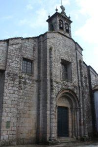 Iglesia de Santa Maria a Real do Sar - facciata