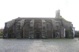 Iglesia de Santa Maria a Real do Sar - vista laterale