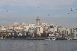 Il quartiere di Karakoy visto da Eminonu
