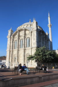Moschea di Ortakoy - retro