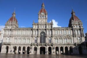 Palacio Municipal - vista frontale