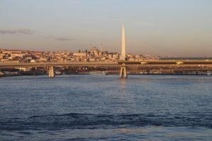 Scorcio di Istanbul di primo mattino