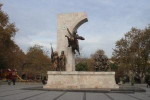 Statua per Fatih Sultan Mehmet