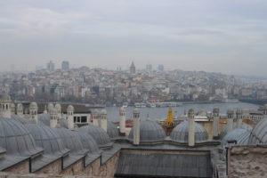 Vista di Karakoy dalla Moschea di Solimano
