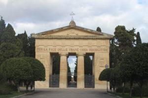 Cimitero di Lecce - ingresso