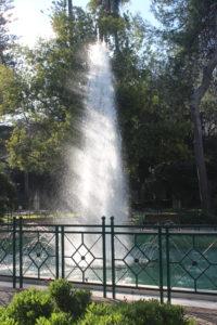 Fontana a Zampillo della Villa Comunale