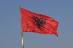 Bandiera dell'Albania
