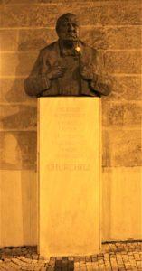 Busto in Bronzo di Winston Churchill