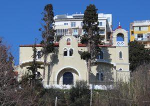 Chiesa Ortodossa - lato strapiombo