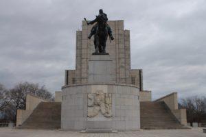 Memoriale Nazionale a Jan Zizka - fronte