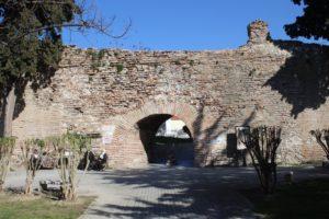 Mura della città ancora oggi in piedi