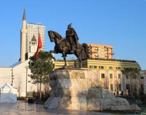 Statua Equestre di Skanderberg