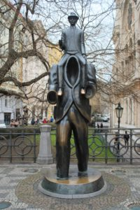 Statua di Franz Kafka