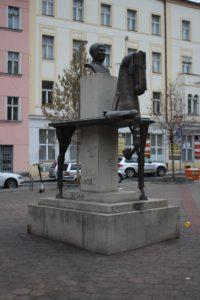 Statua di Jaroslav Hasek