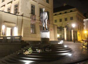 Statua di Tomas Masaryk
