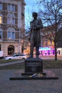Statua per Taras Shevchenko
