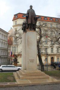 Statua per Woodrow Wilson