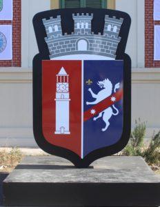 Stemma di Tirana in formato gigante
