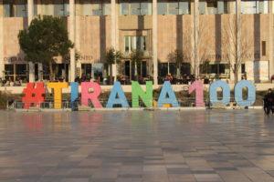 Tirana - 100° anniversario come capitale d'Albania