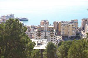 Vista di Durazzo affacciata sull'Adriatico