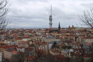 Vista di Praga dalla Collina Vitkov