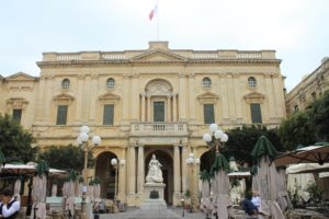 Biblioteca Nazionale di Malta - panoramica