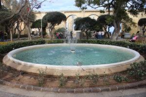 Fontana degli Upper Barrakka Gardens