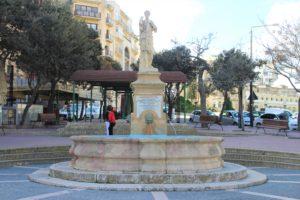 Fontana in Piazza Tal-Balluta