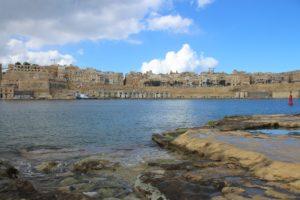 La Valletta vista da Vittoriosa
