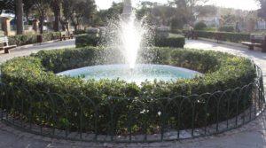 Mall Garden - fontana 1