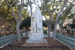 Mall Garden - statua 2