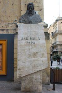 Scultura per Papa Pio V°
