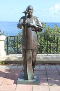 Statua per Sri Chinmoy