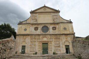 Chiesa di San Pietro Extra Moenia - facciata