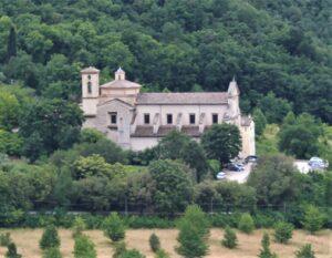 Chiesa di San Pietro Extra Moenia - panoramica