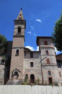 Chiesa di Sant'Andrea in Porta Susanna - retro