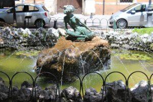 Fontana della Bambina - dettaglio