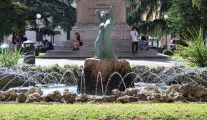 Fontana della Sirena - dettaglio