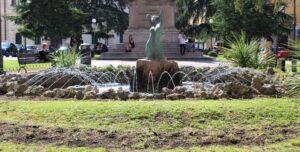 Fontana della Sirena - panoramica