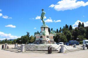Il David verde di Piazzale Michelangelo