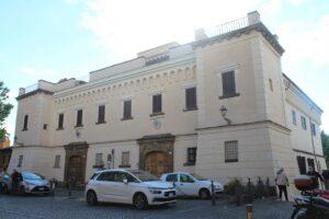 Palazzo Vescovile - retro
