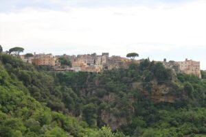 Panoramica sul Borgo di Tivoli
